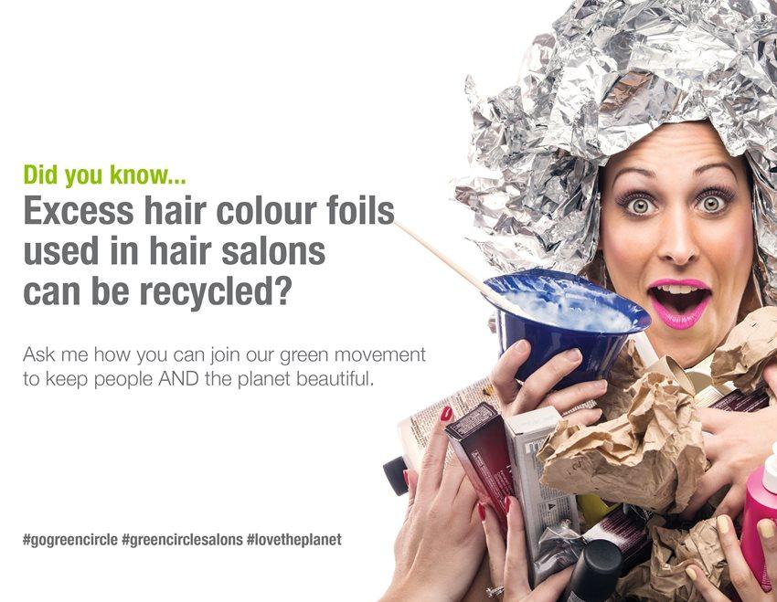 Hair color foil