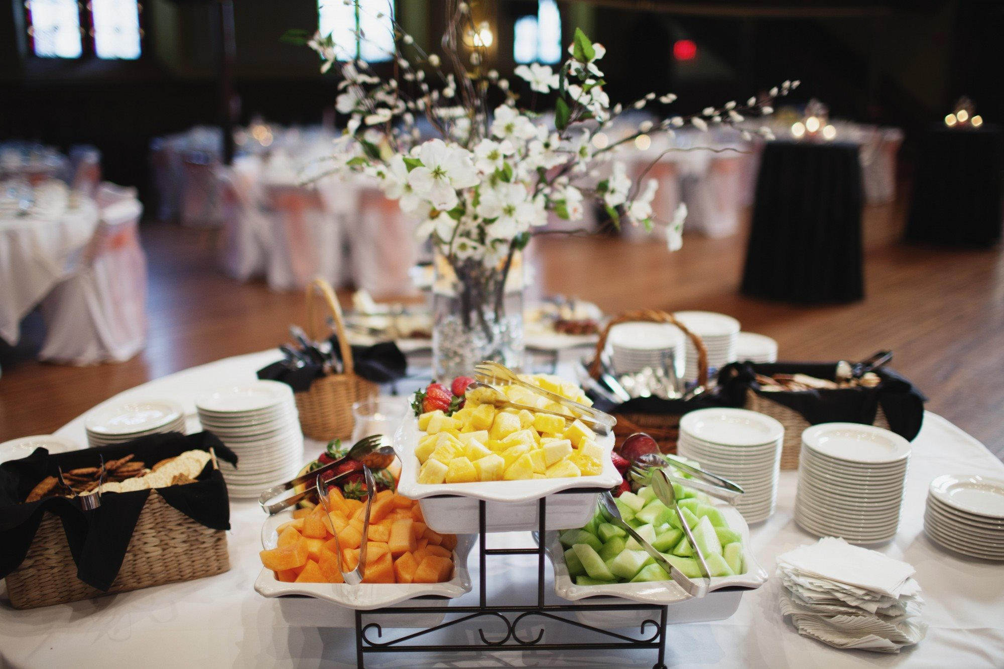 Decorated Table By Culinary Productions
