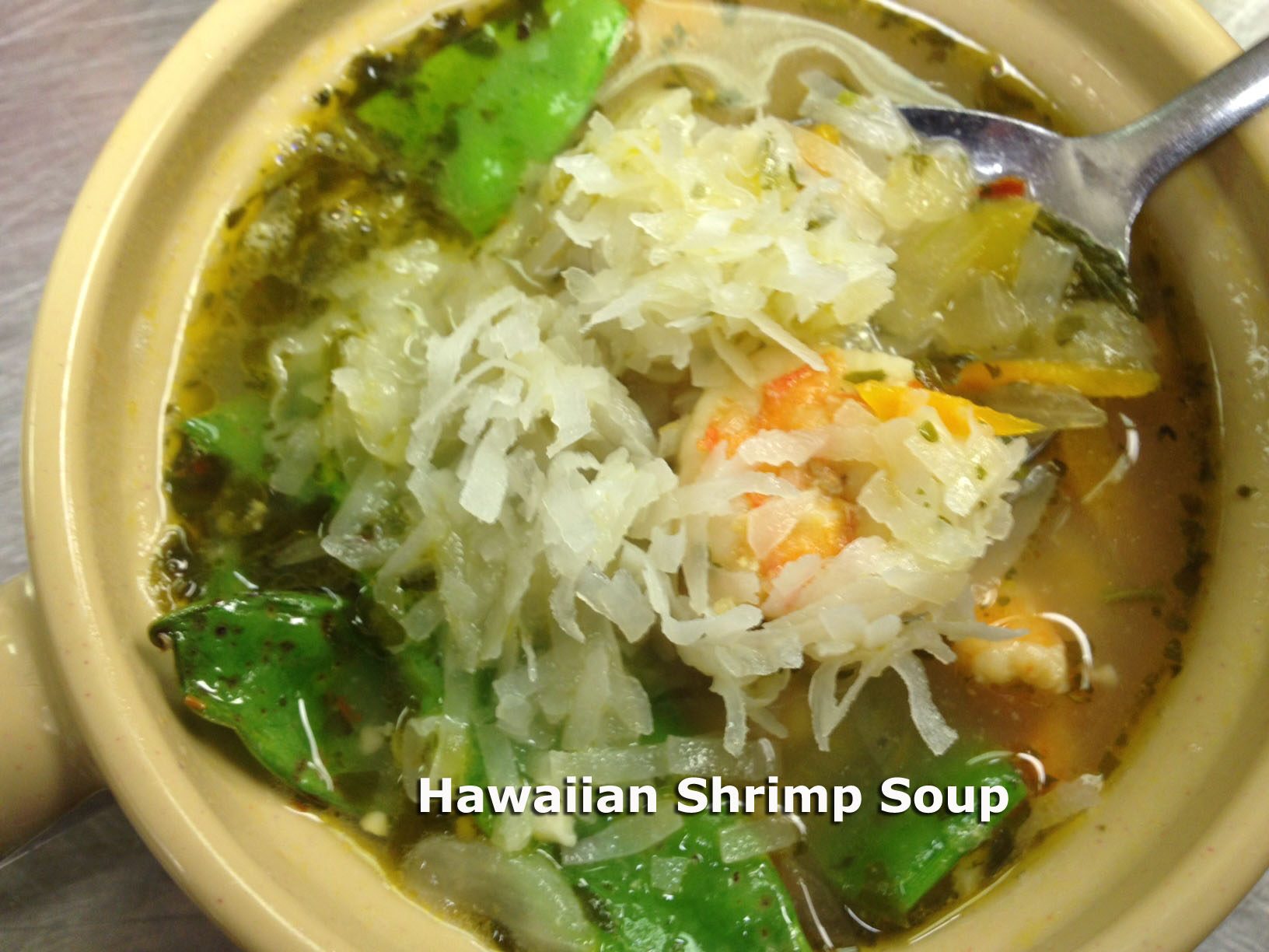 Hawaiian Shrimp Soup