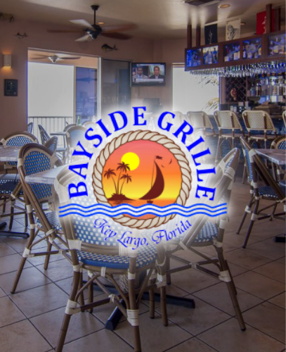 Bayside Grille Interior Image and Logo
