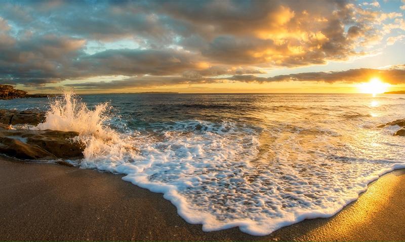 Laguna Beach ocean view from the shore