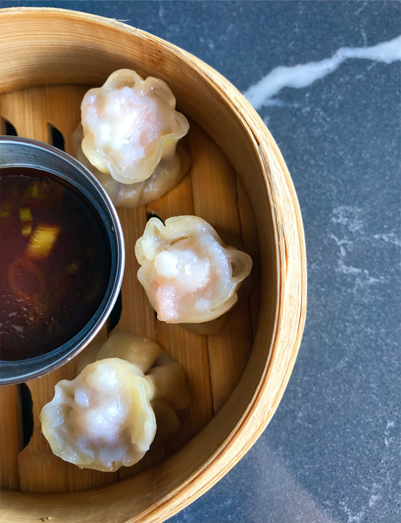 Shao Mai - traditional pork & shrimp dumplings, steamed