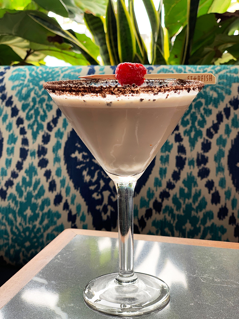 Raspberry Truffle (martini)