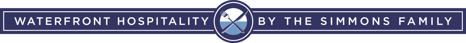 Waterfront Hospitality by the Simmons Family logo