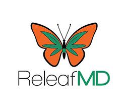 Dr. King, ReleafMD Logo