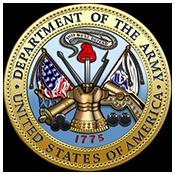 US Army Logo Round