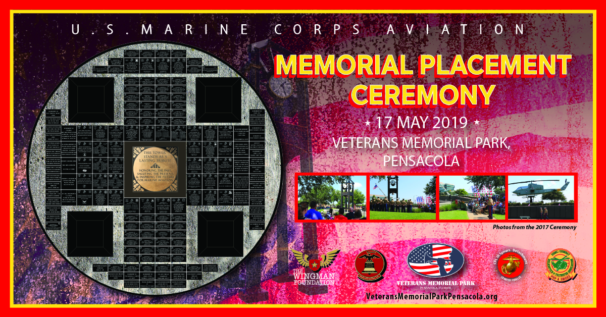 U.S. Marine Corps Aviation Memorial Placement Ceremony