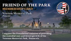 Friend of the Park Membership Card