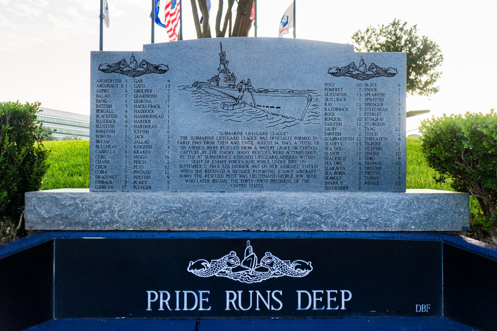 Memorial to Submarine Veterans