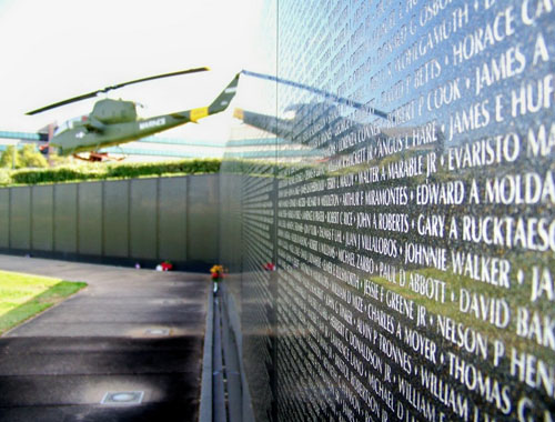 Wall South Vietnam Memorial