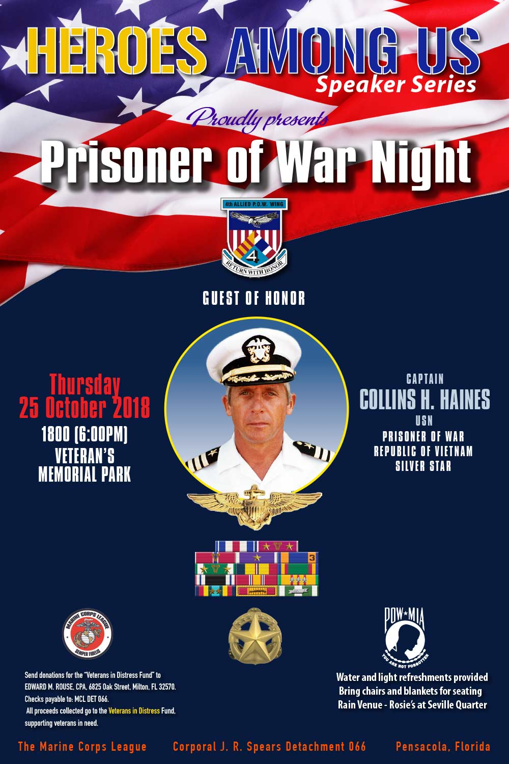 Photo ofHeroes Among Us - Prisoner of War Night