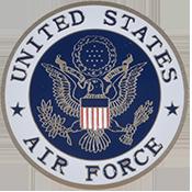 US Air Force Logo Round