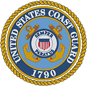 US Coast Guard Logo Round