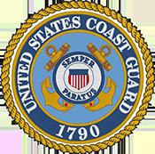 US Coast Guard Logo Round