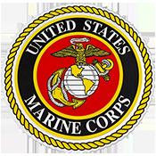 US Marines Logo Round