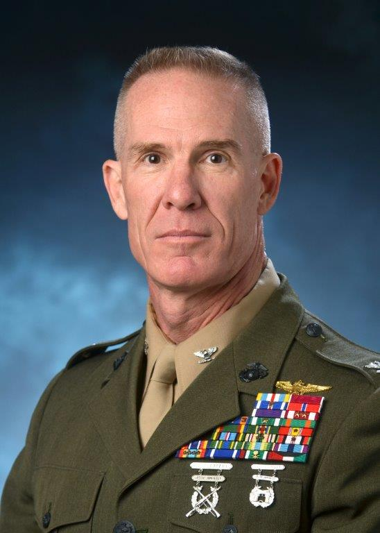 Photo of Biography:  Colonel John S. Walsh, US Marine Corps