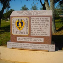 Photo of Purple Heart Memorial