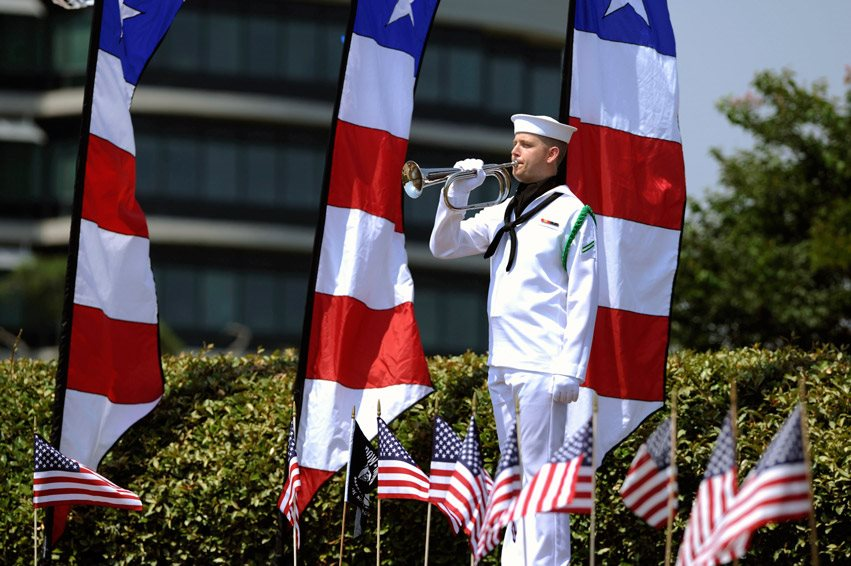 Memorial Day Ceremony, 25 May 2014