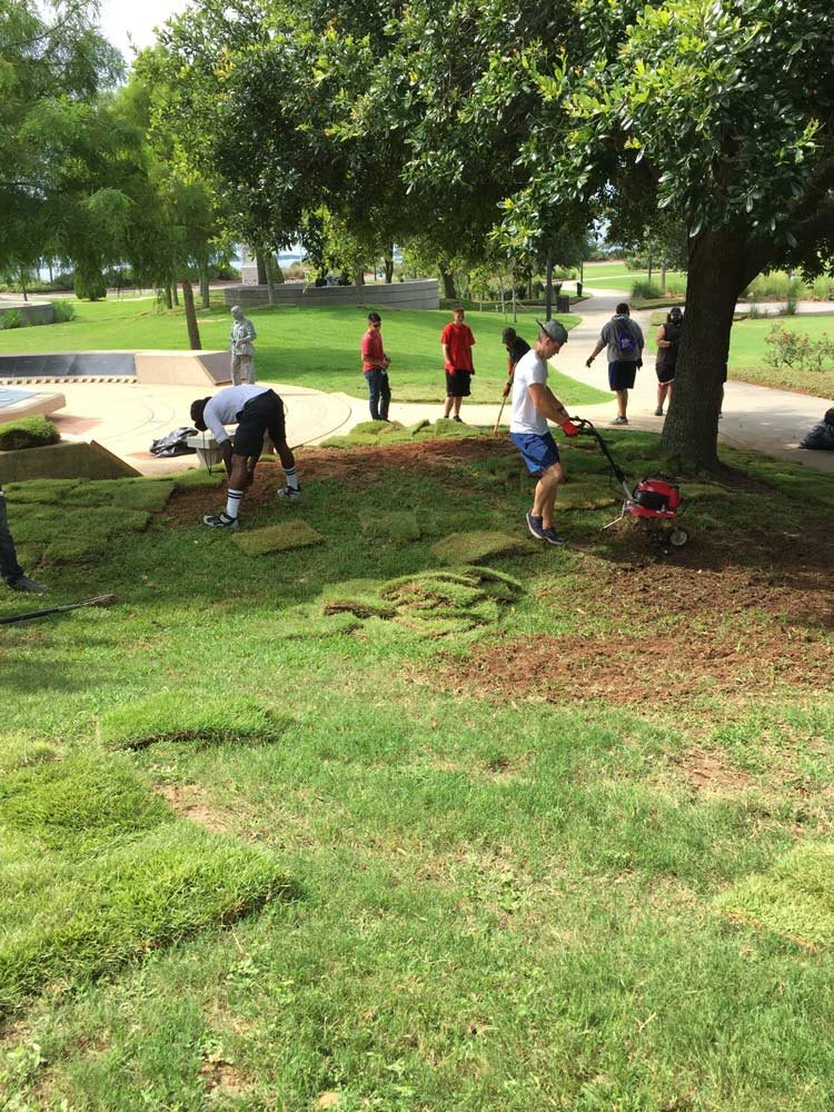 Armed Forces Park Cleanup June 2017
