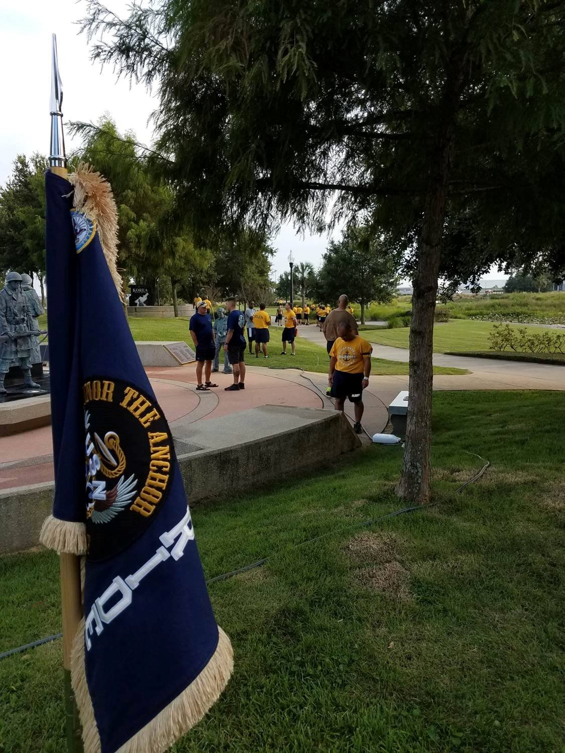 Armed Forces Park Cleanup Sept. 2017
