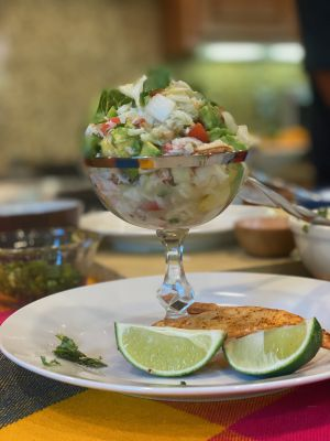 Dungeness Crab Ceviche