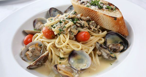 Linguinia and Clams Dinner