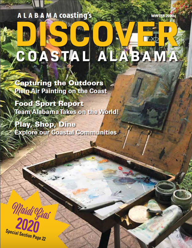 Cover of Fall 2019 Discover Coastal Alabama magazine