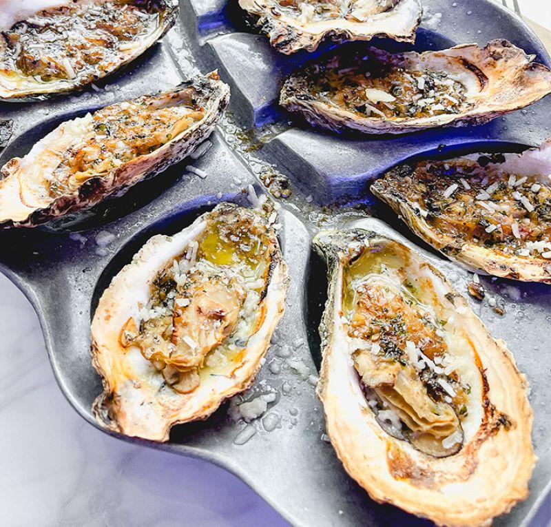 garlic-oysters