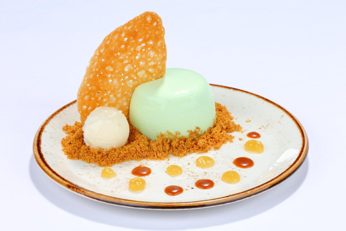 Sorbet Dessert Dish