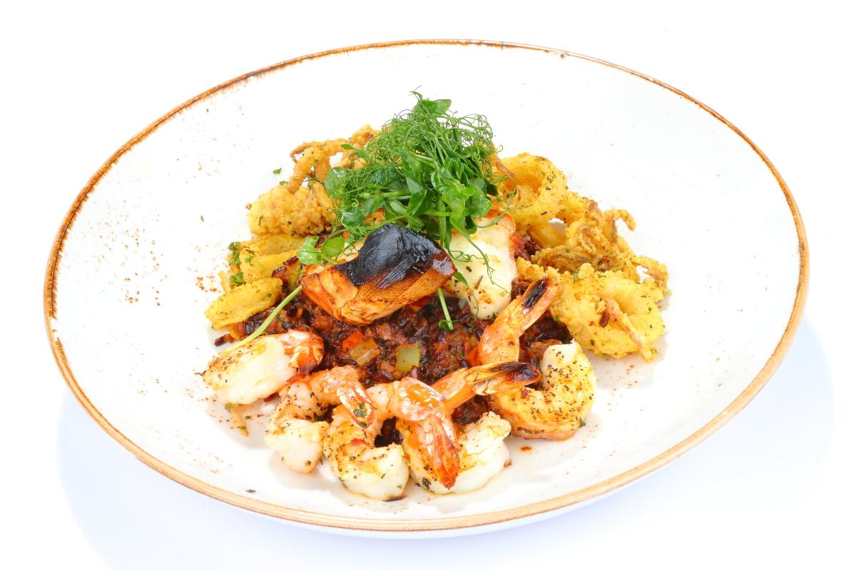 Grilled Shrimp Dish