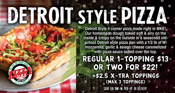 Detriot pizza