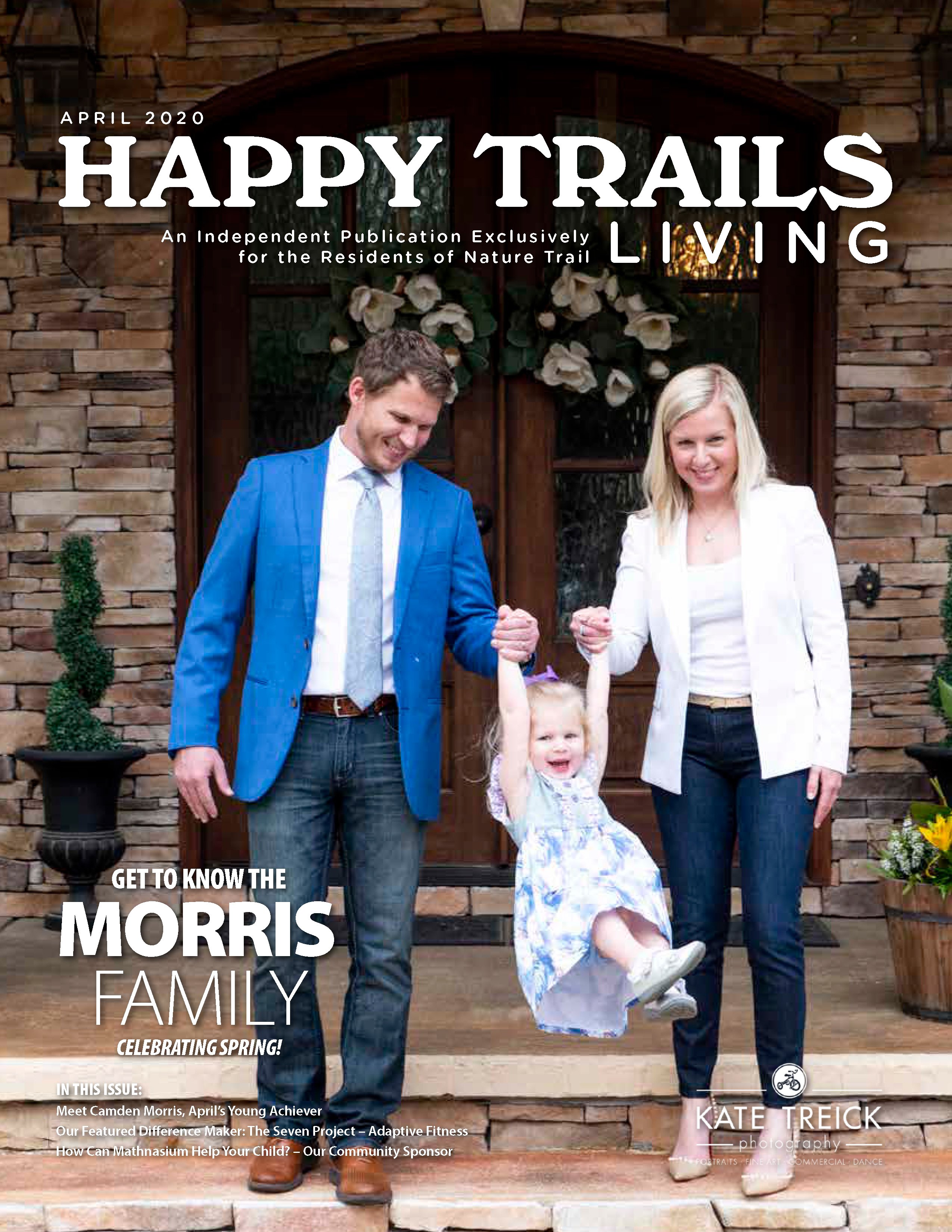 Happy Trails Living Cover for April 2020