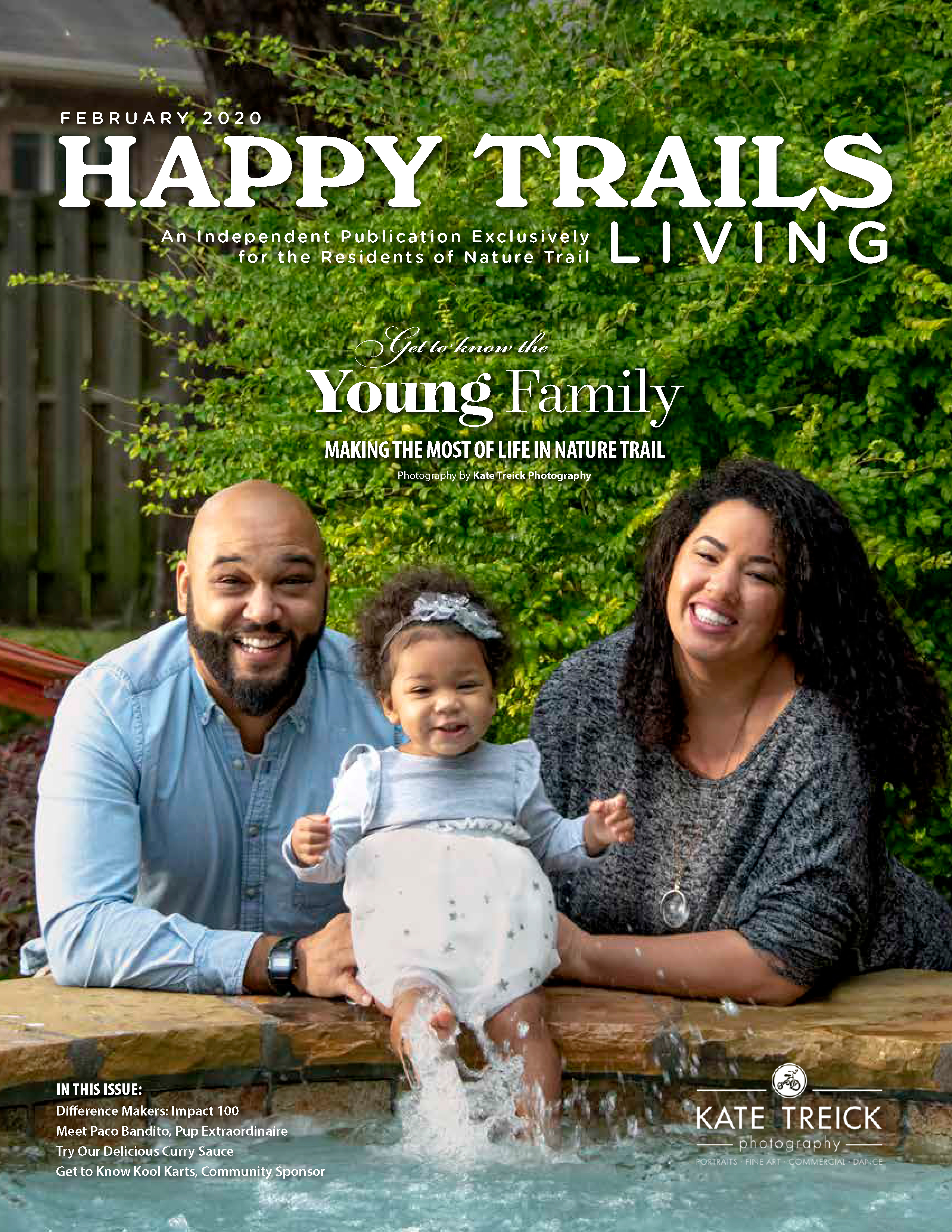 Happy Trails Living Cover for Febrauary 2020