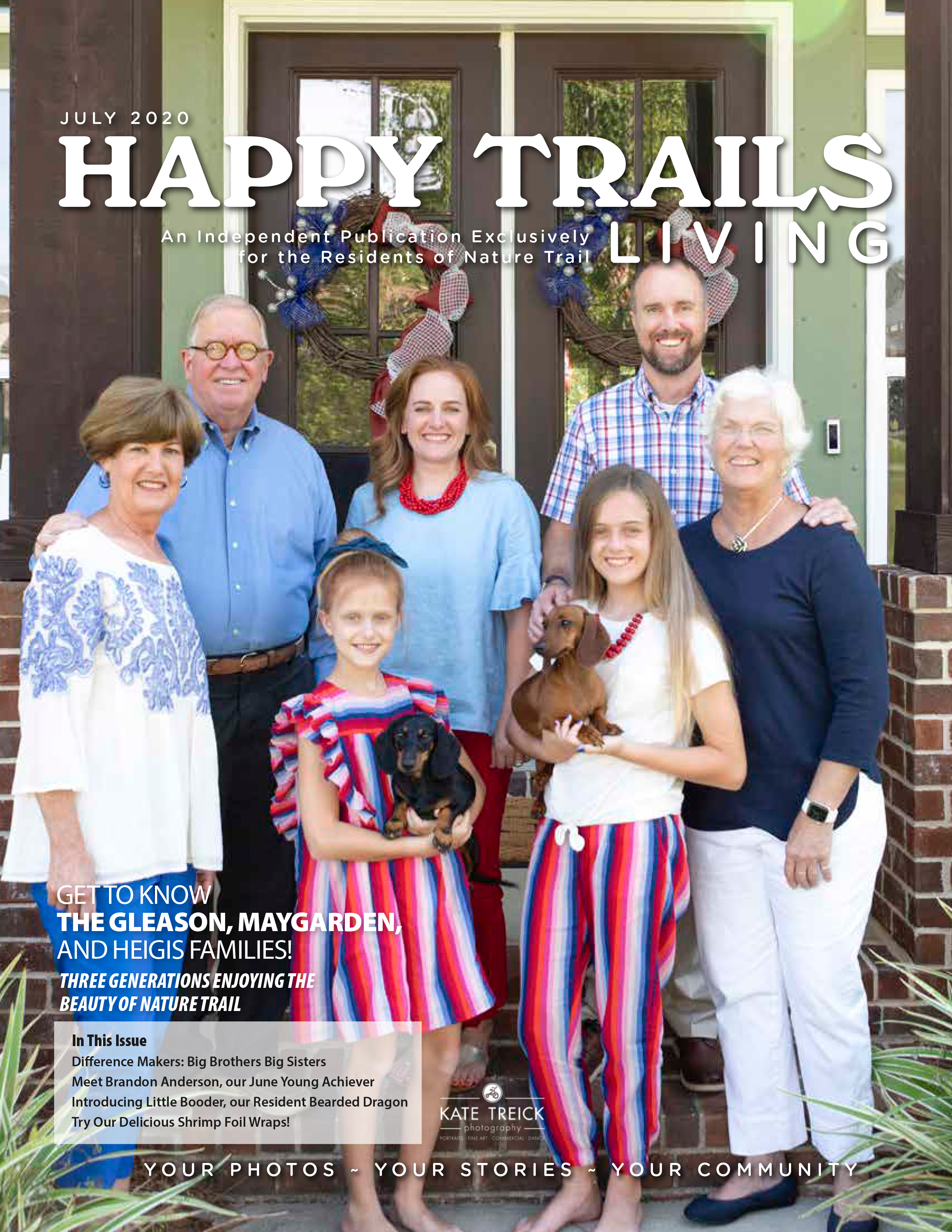 Happy Trails Living Cover for July 2020