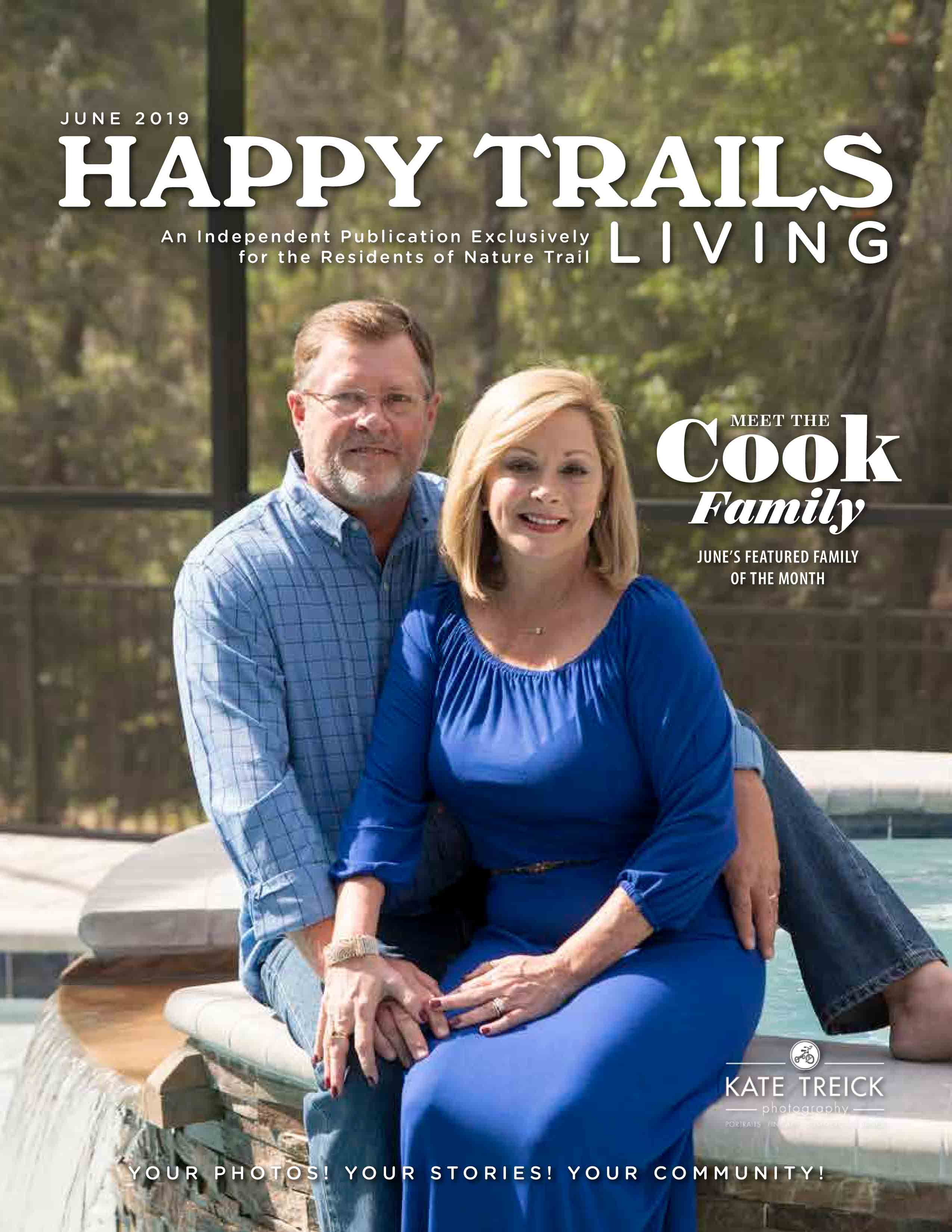 Happy Trails Living Cover for June 2019