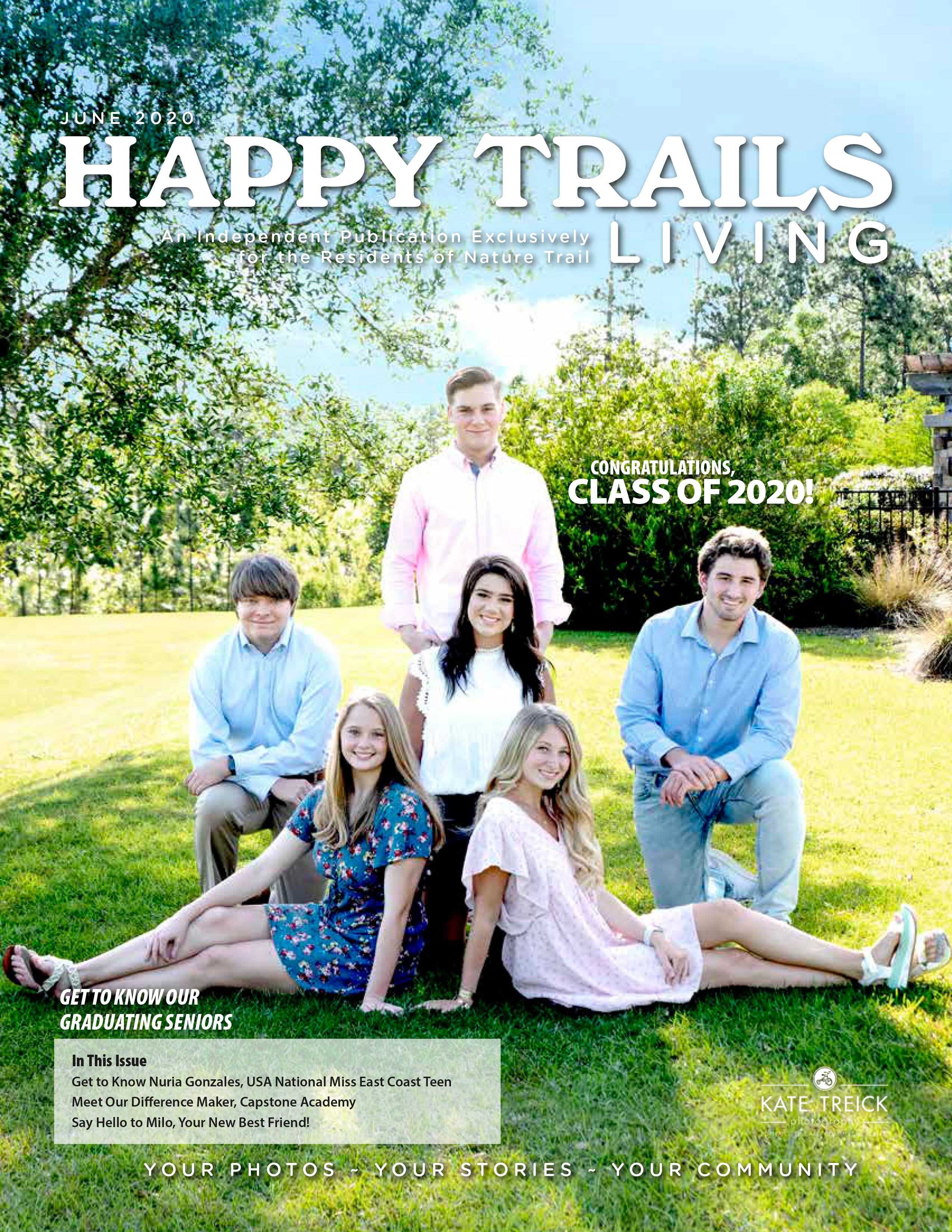 Happy Trails Living Cover for June 2020
