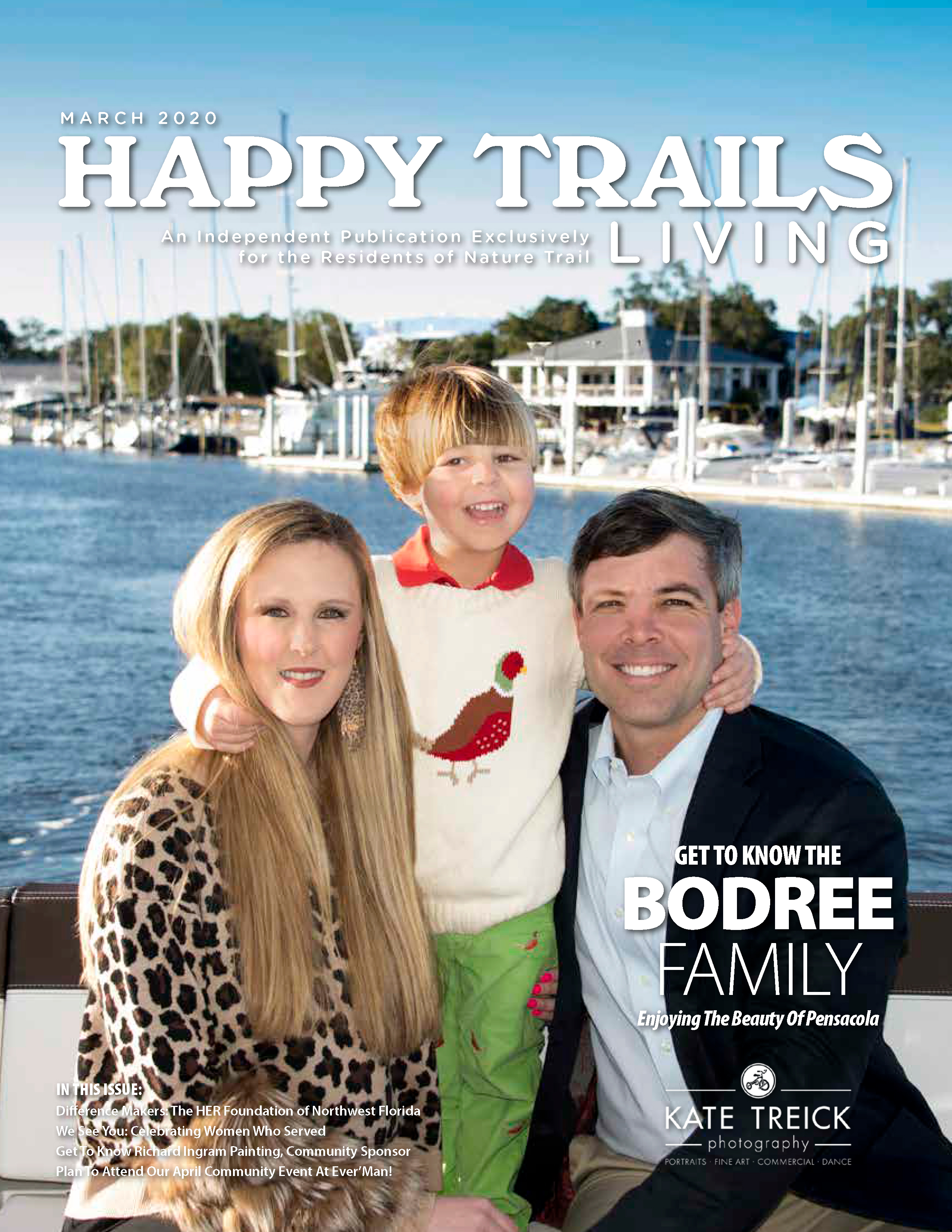 Happy Trails Living Cover for March 2020
