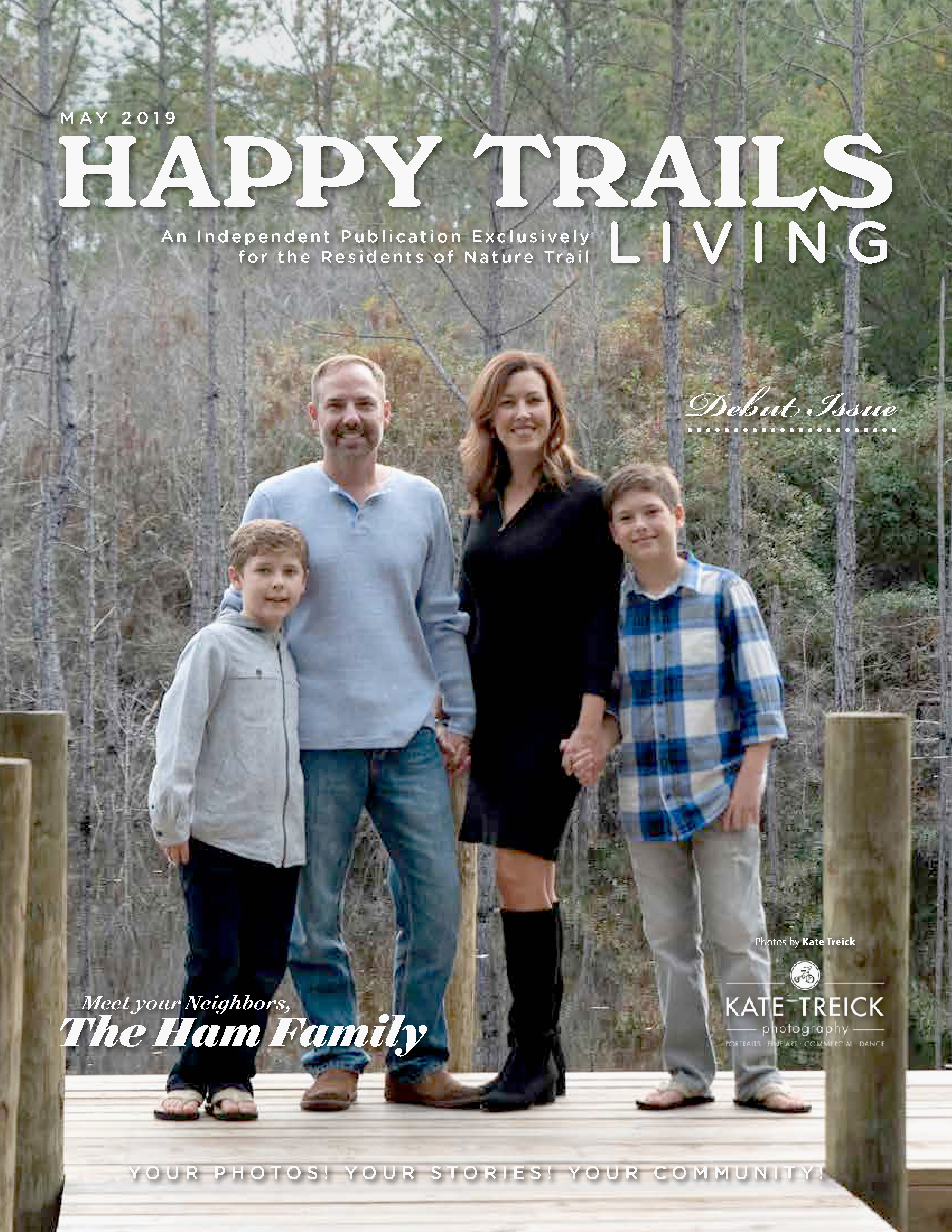 Happy Trails Living Cover for May 2019