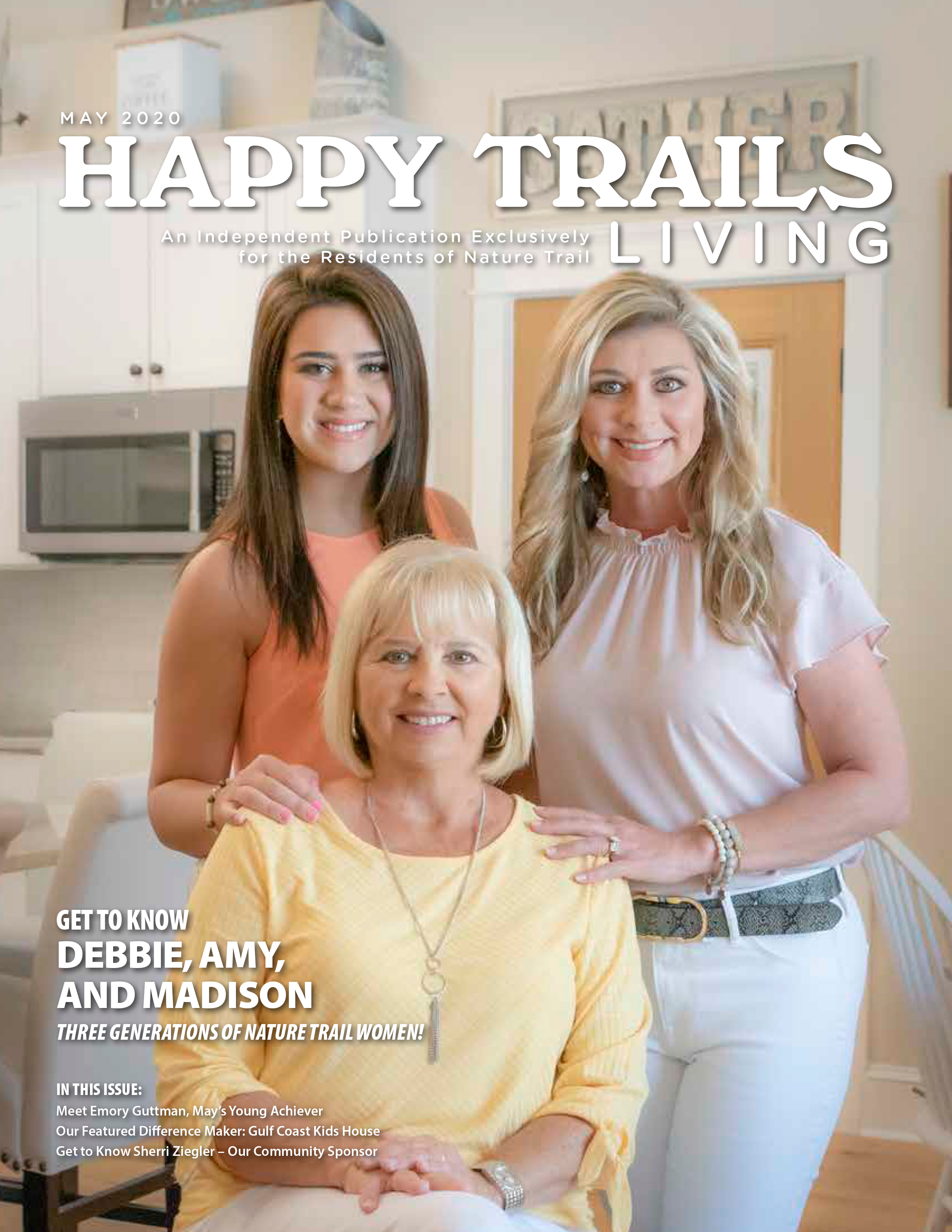Happy Trails Living Cover for May 2020