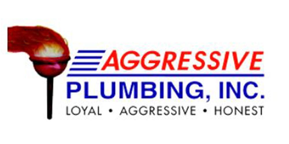 Aggressive Plumbing logo