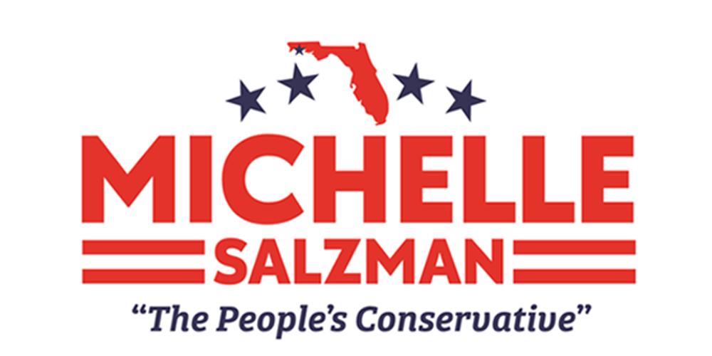 Michelle Salzman - Vote Salzman logo