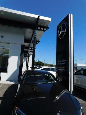 Mercedes Benz Car Lot image