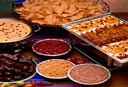 Catered meals by El Chico
