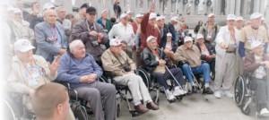 Group shot of veterans