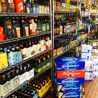 Beer Aisle at Apple Market