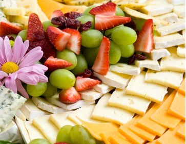 Photo of  Fresh Fruit & Boars Head Cheese Tray