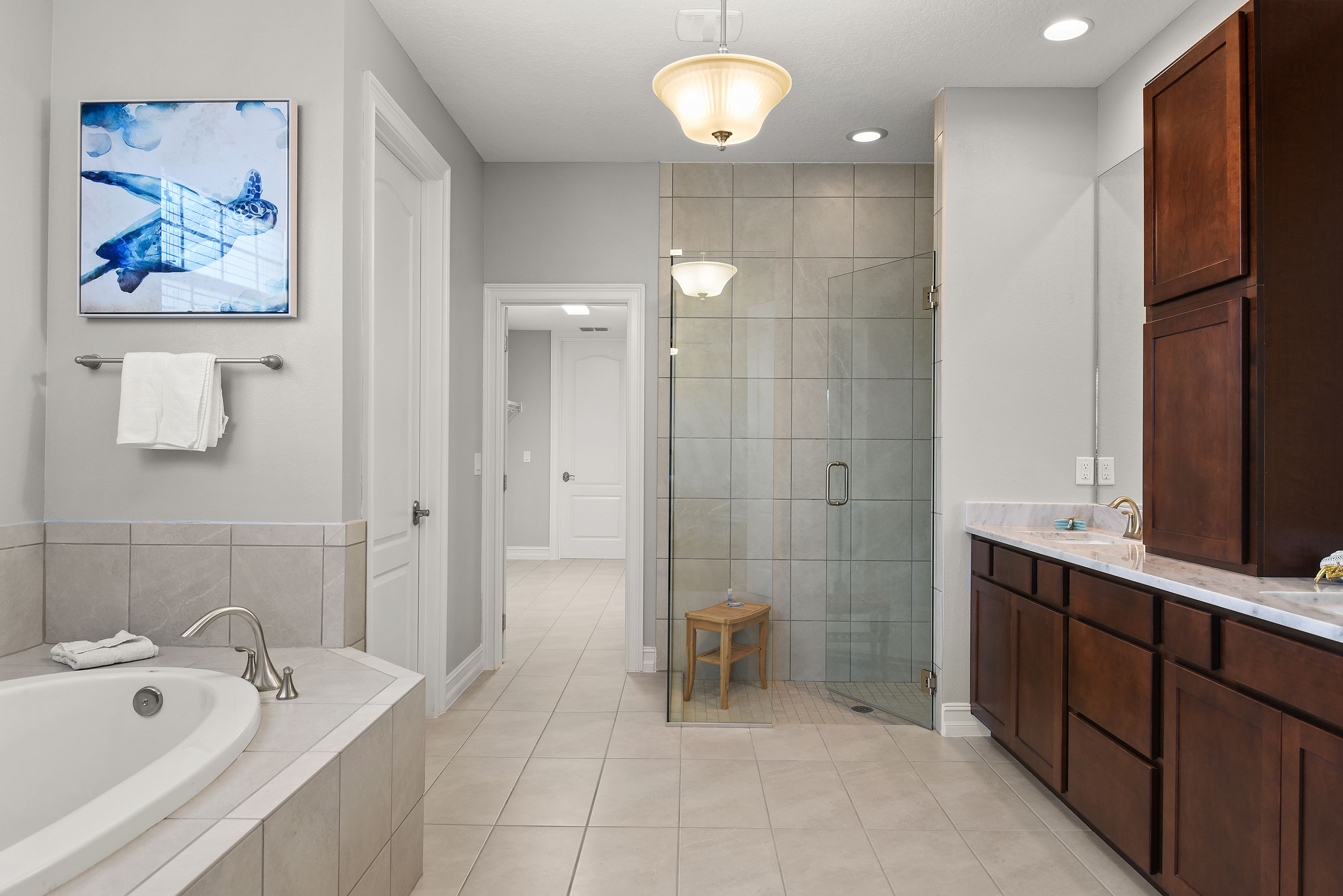 Bathroom in property