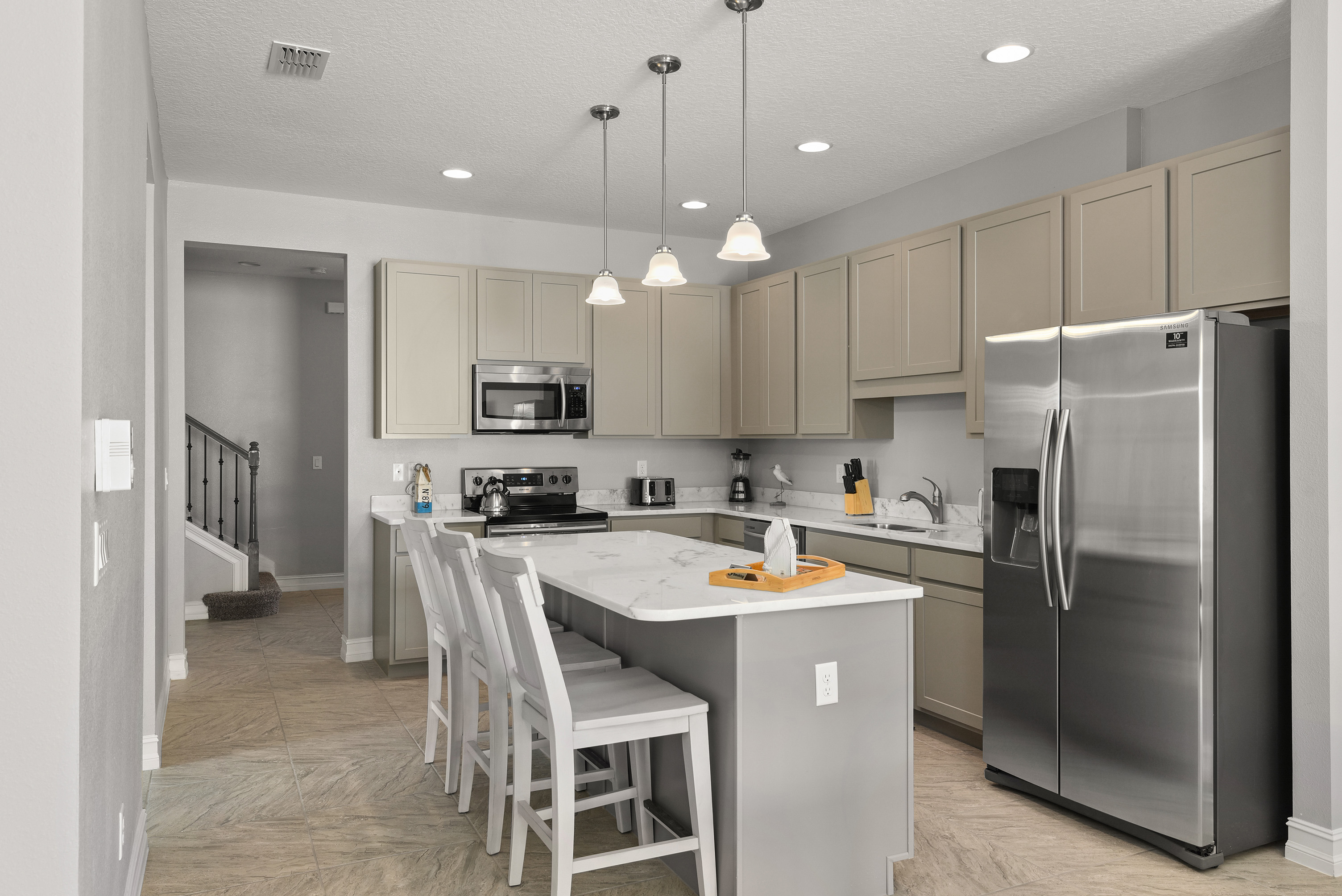 Kitchen in property