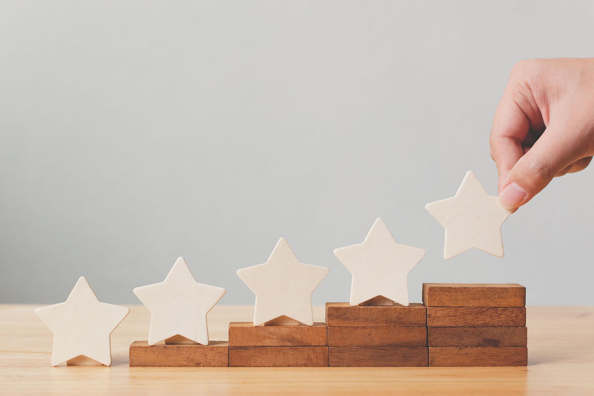 5 Star Ratings Image