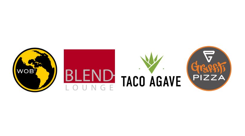 200 South ~ World of Beer ~ Blend ~ Taco Agave ~ Graffiti Pizza